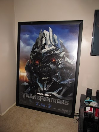 Thanks Dave! #Transformers #BusShelterPoster!