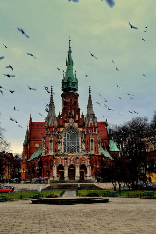 Iglesia de San José, en Podgorze, Krakow, (Poland)