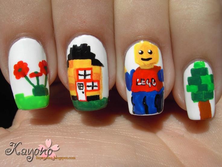 Kayono: Lego Nails