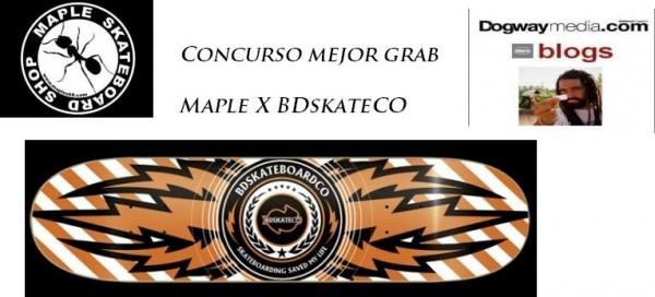 """[CONCURSO DOGWAY X BD X MAPLE] Pásate por el blog de Javier Saavedra y entérate de cómo llevarte una TABLA BD 'Thunder' de 7.8"""". Tienes hasta el último día de MARZO para participar. ¡¡¡SUERTE!!!  http://dogwaymedia.com/2013/02/27/concurso-maple-x-bdskateco-mejor-blunt/#.US8Nr1crErX"""