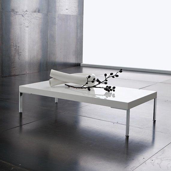 Tavolino basso Salotto Porta Tv con piano in legno di Eglooh