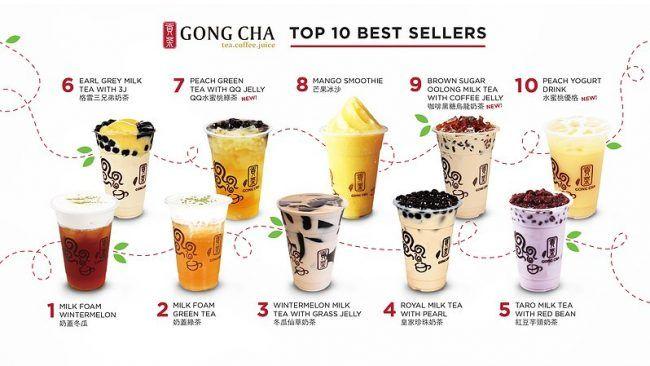 Gong Cha A New Definition Of Bubble Tea Bubble Tea