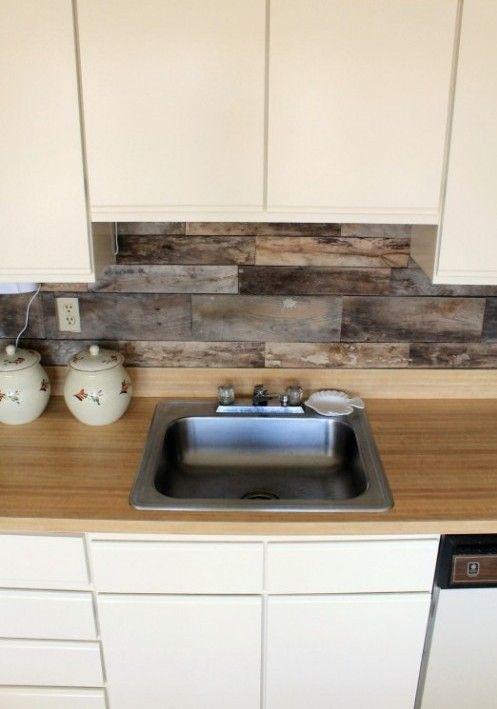 C mo decorar un frontal con palets para la cocina pared for Frontal cocina ideas