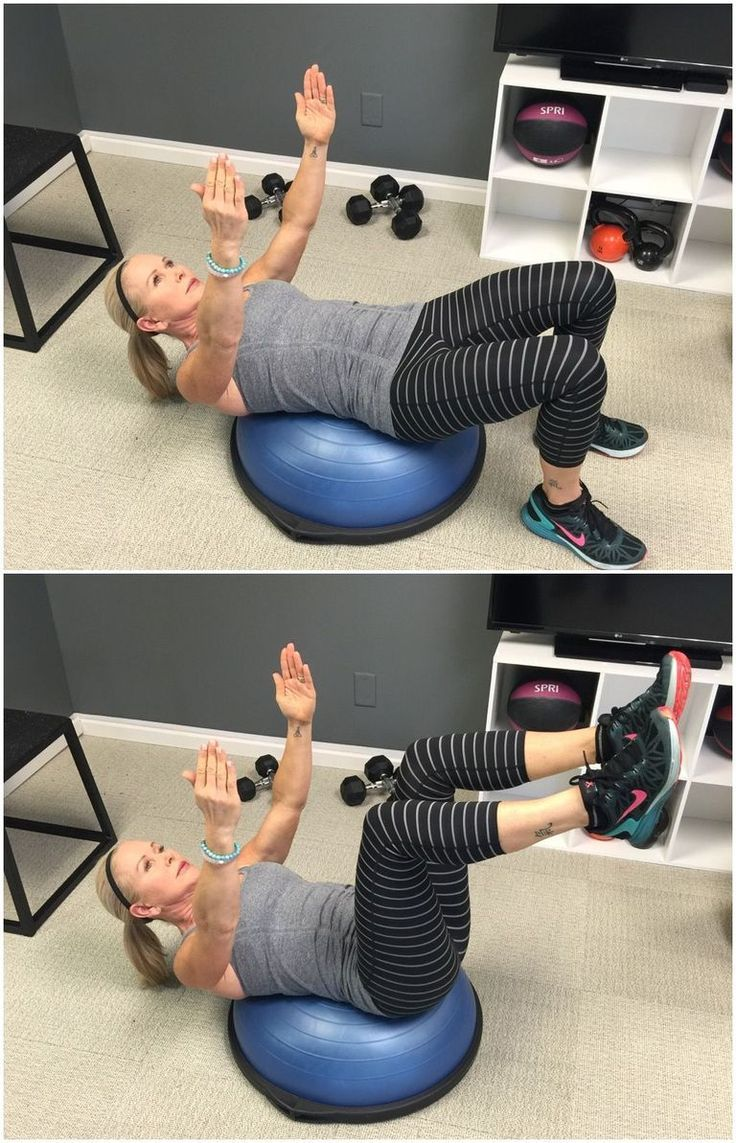 5 Exercises For Better Balance Health And Fitness Bosu Workout Balance Exercises Exercise