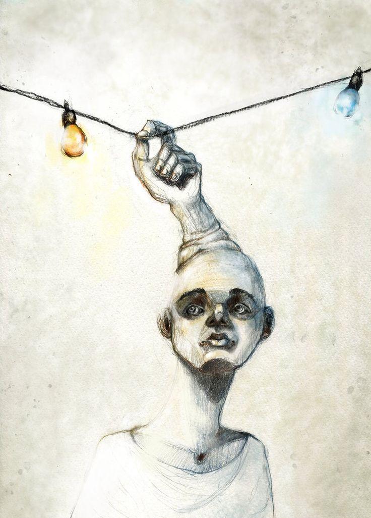 """month of fear - metamorphosis"" - artwork by eileen marie tretter - sashura art"