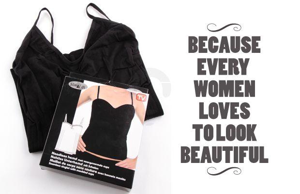 Slim Lift Noodloos Hemd Singlet yang membuat tubuh kamu semakin terlihat lebih ramping. Rp 46.000