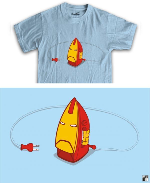 Ironman T-shirt Funny Design - We share ideas-ideaswu
