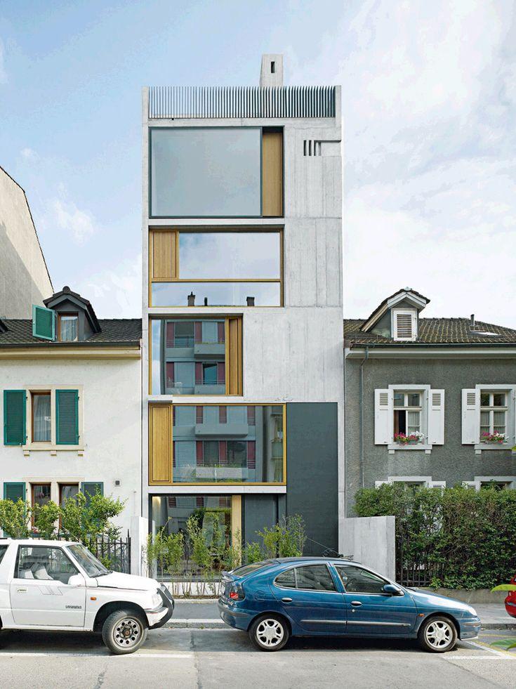 17 best images about project wittenbach aussen on pinterest copper ps and stylish kitchen - Gmur architekten ...
