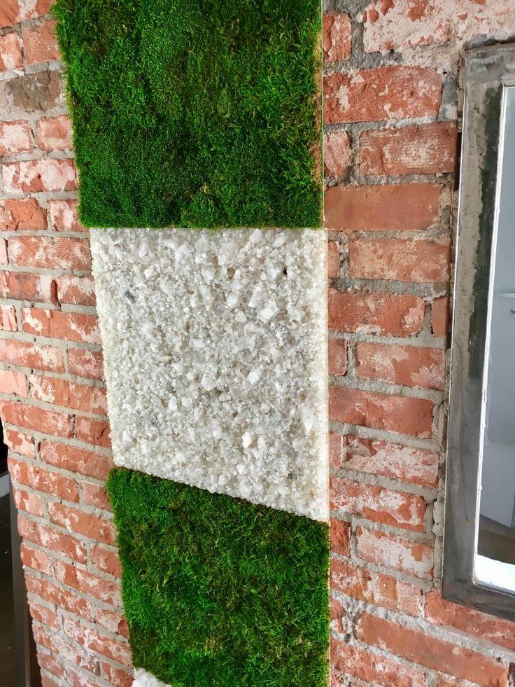 Mech stabilizowany i kryształy soli. - Everlasting Flowers - zielone ściany z mchu i roślin stabilizowanych