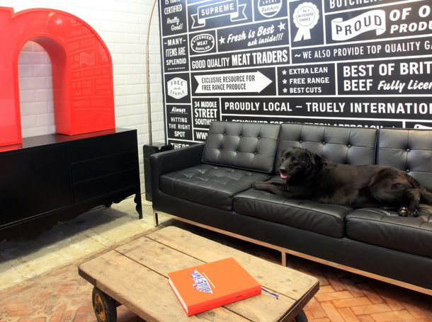 awesome design shop, looks like a cool place to work