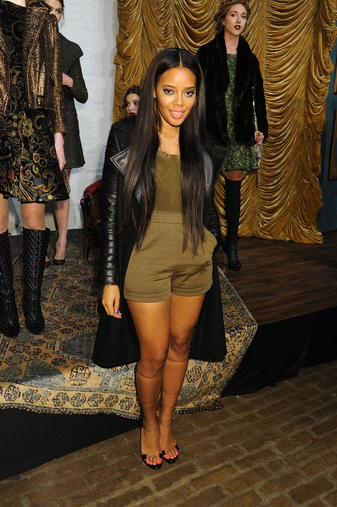 28 best angela simmons images on pinterest black girls chain angela simmonsi love the straight long hair and the long black jacket pmusecretfo Image collections