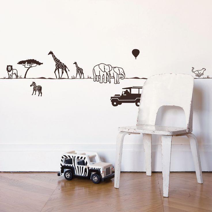 Safari wall-border