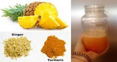 Pineapple And Turmeric Drink Reverses Cancer-Causing Inflammation And Even Beats The Common Cold! - http://nifyhealth.com/pineapple-and-turmeric-drink-reverses-cancer-causing-inflammation-and-even-beats-the-common-cold/