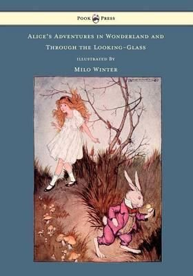 Alice in Wonderland. Year: #2011. Country: #UK. Illustrations: Milo Winter. Additional Info: Read Books printed edition. #book #cover #art