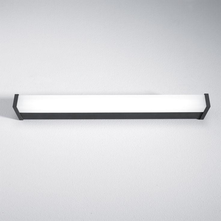 V.IP44 mirror lighting 620 x 900 x 450 mm - anthracite