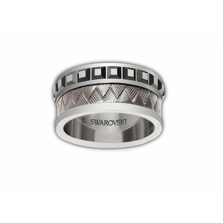 cc759586770a2 Swarovski mens rings Accesorios de Elegancia t