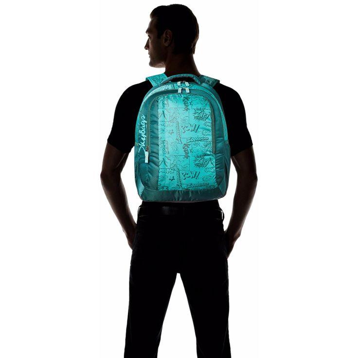 Green Backpack for Men
