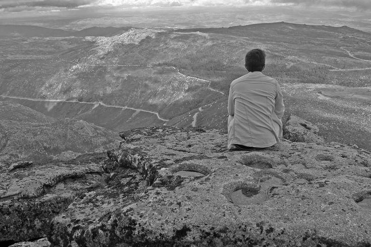 Serra da Estrela - Self portrait
