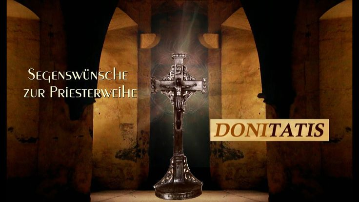 Bei Donitatis finden Sie Segenswünsche zur Priesterweihe. Es sind wundervolle christliche Videos, die besinnliche Gedichte und Verse zu bedeutsamen Anlässen und Festen in die Seelen der Menschen tragen. Auch wenn Sie einen besinnliche Spruch zum Priesterjubiläum suchen, wird Sie dieses Video inspirieren.