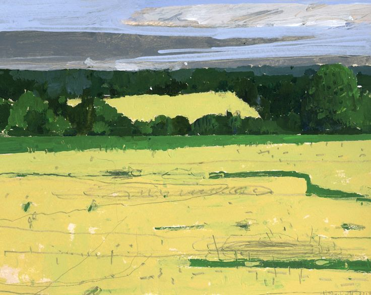 Winter Wheat by Harry Stooshinoff on Artfully Walls