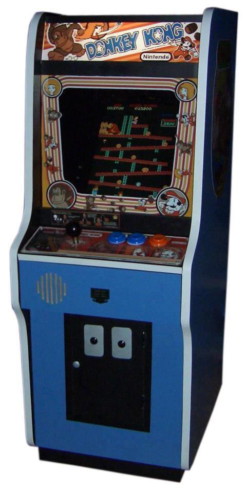 La máquina de recreativos de mi juventud. Costaba 25 pesetas la partida.
