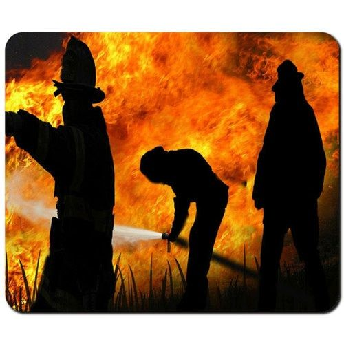 Mouse pads Free shipping firefighters