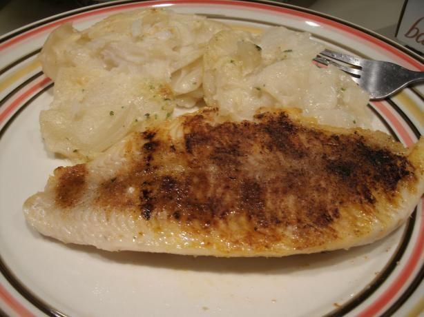 Cajun style catfish george foreman grill recipe george for George foreman grill fish