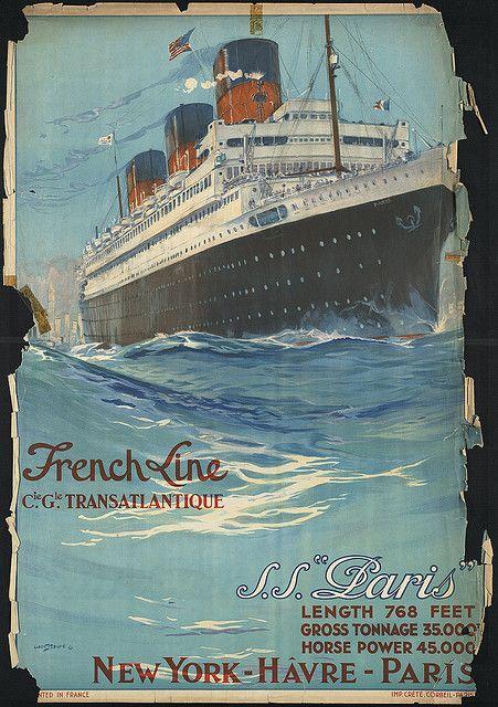 * wunderkammer *: Boston Public Library: Colección de antiguos carteles de viaje /// Sammlung von alten Reiseplakaten /// Collection of old travel posters