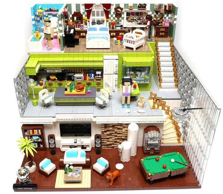 119 best Lego Houses images on Pinterest | Lego village, Lego winter ...