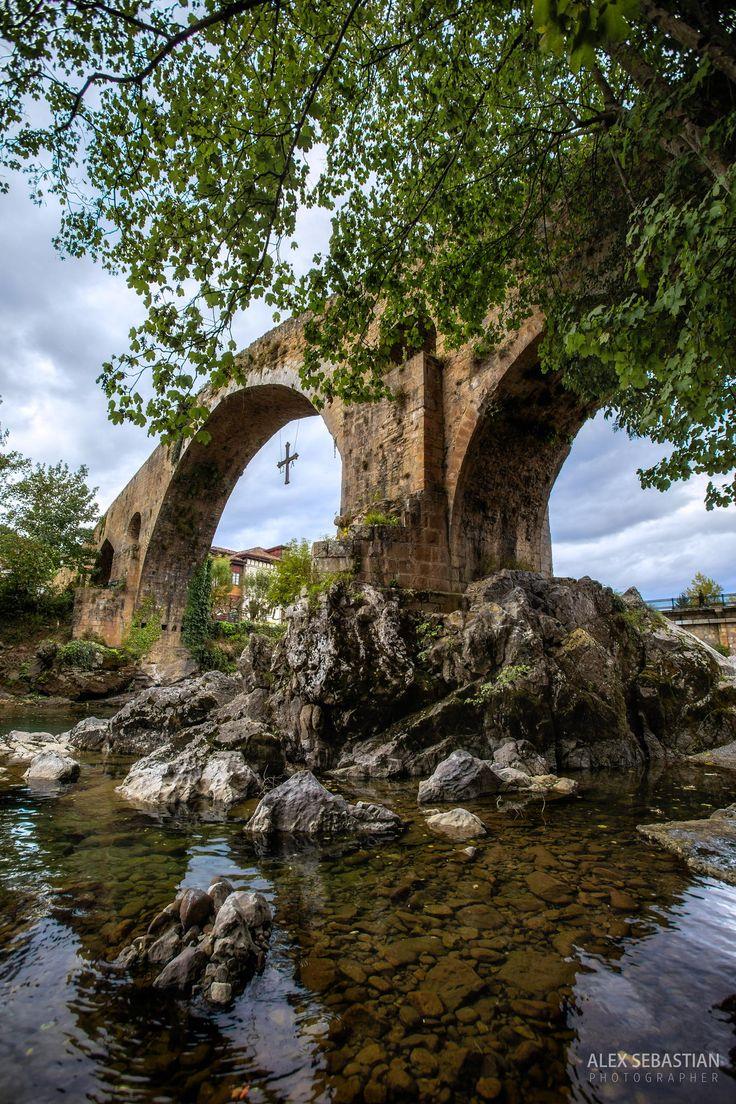 Puente Romano - Cangas de Onis - Spain @Picos_de_Europa