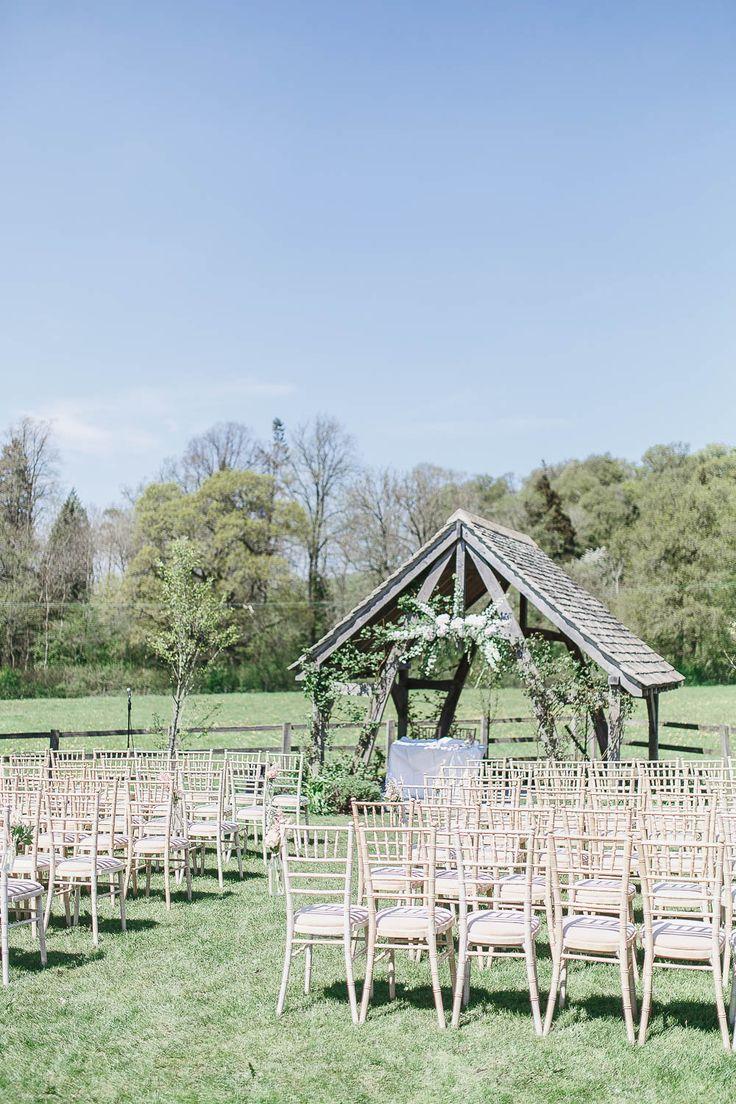 Outdoor Ceremony Cotswolds by UK Destination Wedding Photographers Catherine & Andy | Fine Art Wedding Photography UK & Europe