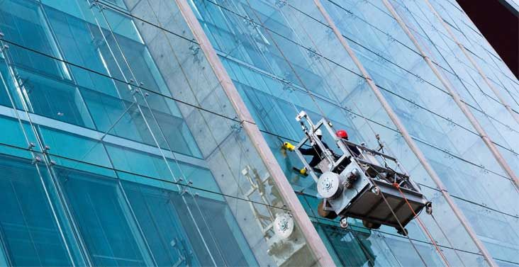 Window Cleaning Or Window Washing Is The Exterior Cleaning Of