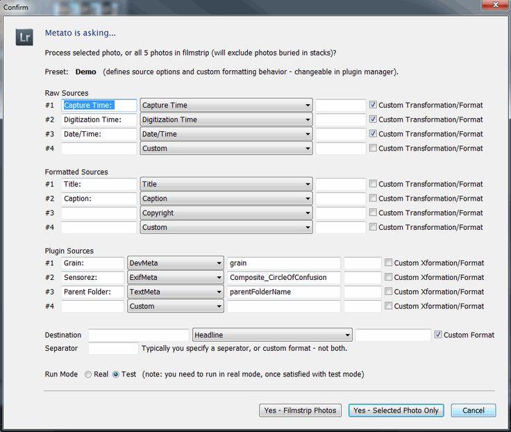 Metato - a tool for renaming and ordering metadata