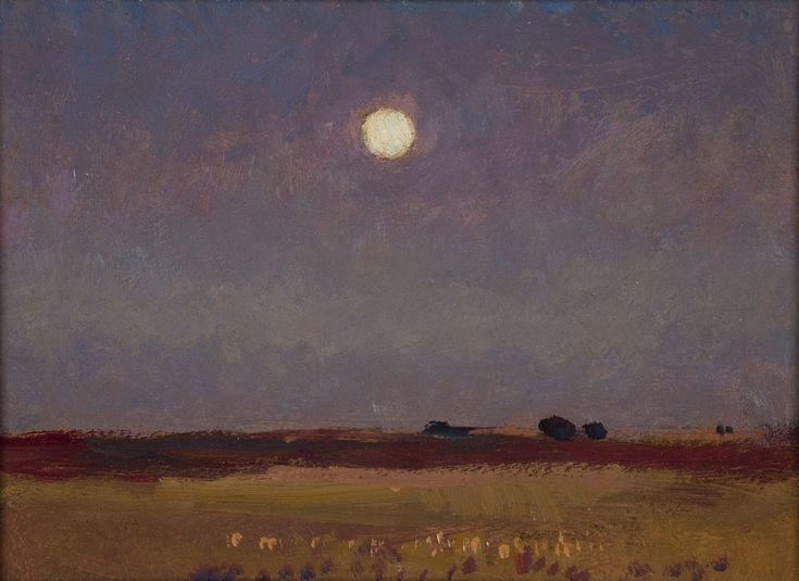 Jan Stanisławski, Noc księżycowa