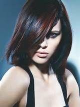 Nero con riflessi ramati.  #Colore #capelli #black #nero #red #ramati  #capelli2014