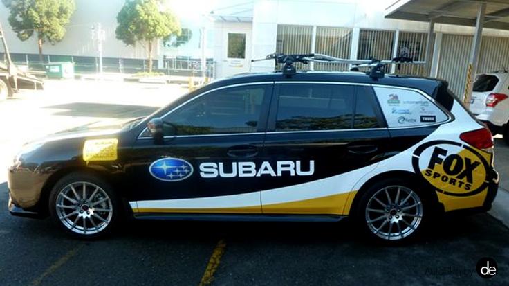 #SubaruActive, #Subaru #VehicleWraps #corporatevehiclebranding