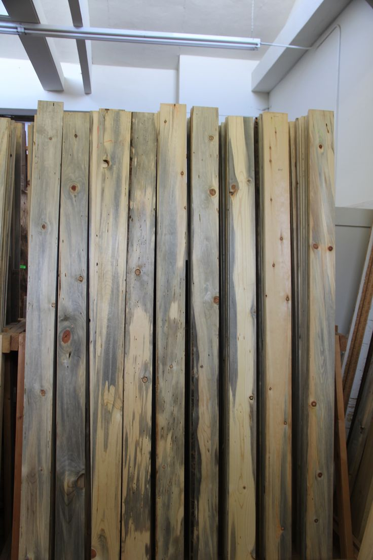 Spring Fever Reclaimed Wood Selection We have