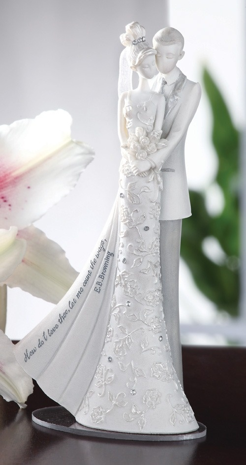 Topo De Bolo De Casamento - Noivinhos