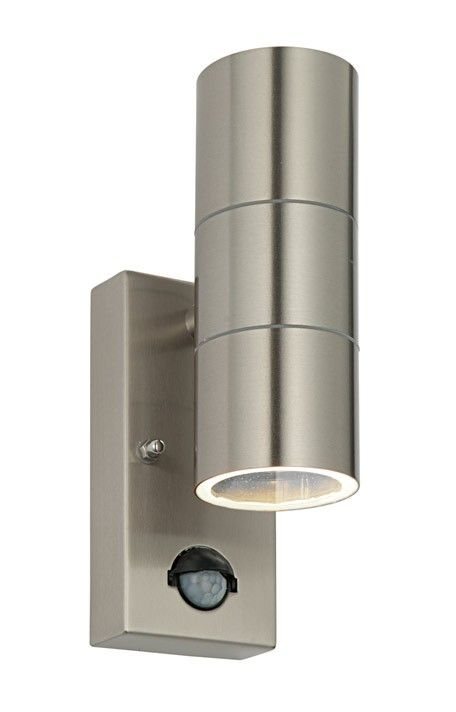 lights dark grey led wall sensor security with lamp lighting co outdoor duo lampandlight motion uk
