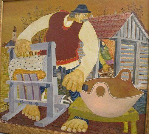 Naivné umenie Kovačica, Srbsko | Billov Blog