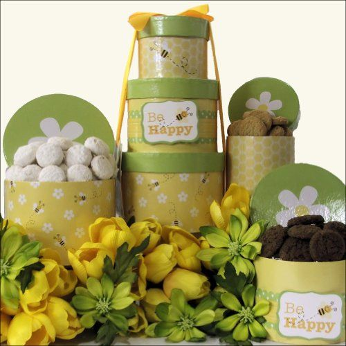 310 best easter images on pinterest easter 4x4 and animated this bee happy spring delights gourmet easter cookie gift tower is the perfect way to send negle Gallery