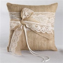 Too cute.. though it is a ring bearer pillow.. I do Say I think this would go perfect in a living room!