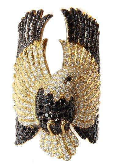 Anello aquila di Elise Dray  - Anelli con animali: preziosa selezione di anelli a forma di animali