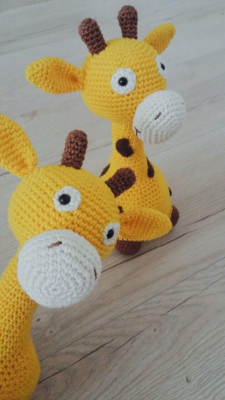 Crochet giraffe  www.hackovane.sk