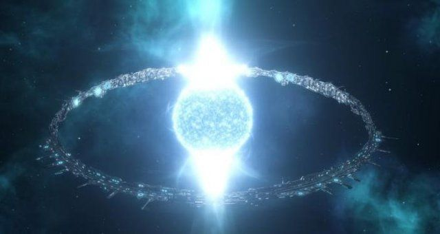 Stellaris Spawning Ringworld Via Only Console Sci Fi Concept Art Space Opera Ancient Civilizations