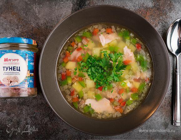 Суп из тунца с болгарским перцем | Кулинарный сайт Юлии Высоцкой: рецепты с фото