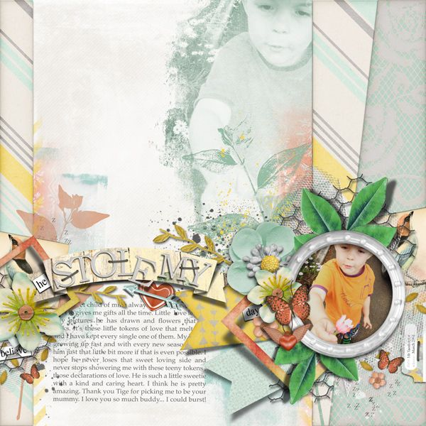 <p> Digital Collection for digital scrapbooking by The Nifty…