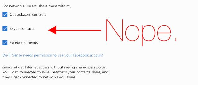 loads enable.. u will have to follow directions to disable - Why the Hell Is Windows 10 Sharing My Wifi Passwords?