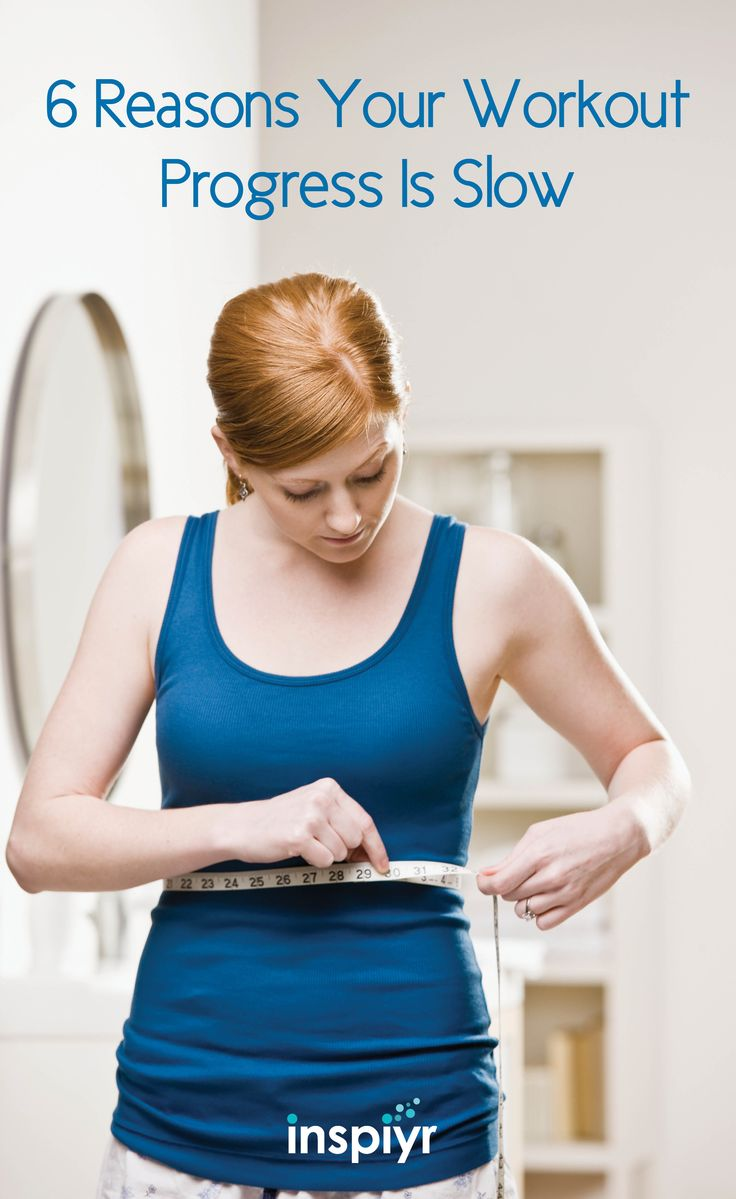 6 Reasons Your Workout Progress Is Slow by Inspiyr.com // If you're not seeing any progress from your workout routine it might be time to change it up. You may be making one of these mistakes here. #Inspiyr