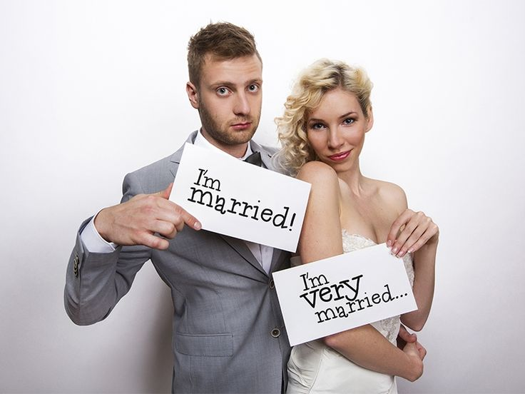 "Funny cards ""I'm married"" & ""I'm very married""  PartyDeco.pl"